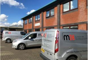 315 MCS building and Vans