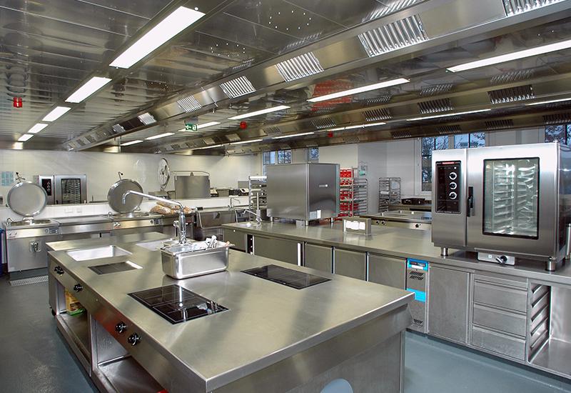 Kuppersbusch Feinkost Kafer production kitchen