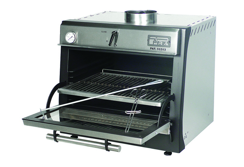 Pira Lux charcoal oven crop