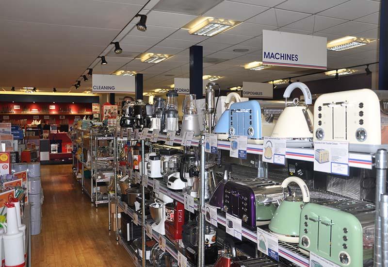 Nisbets Bristol store interior crop