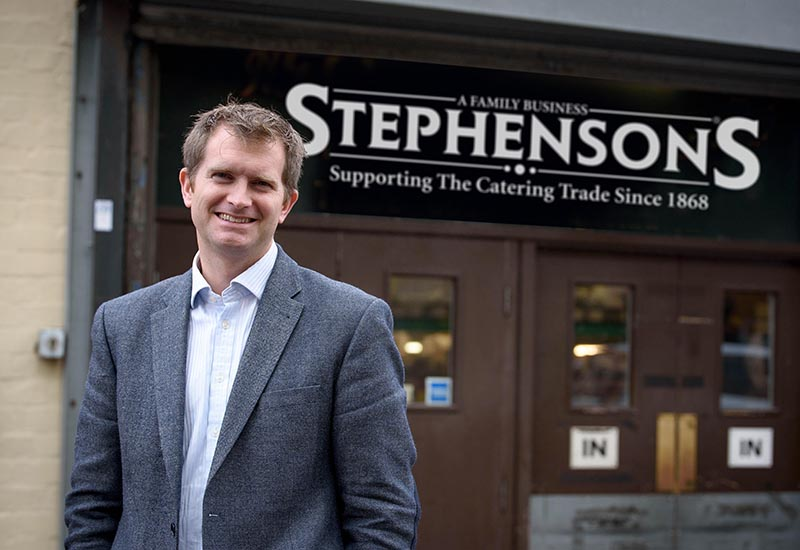 Henry Stephenson Managing Director crop