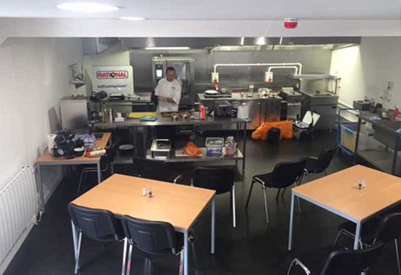Ian Dance Services demo kitchen crop