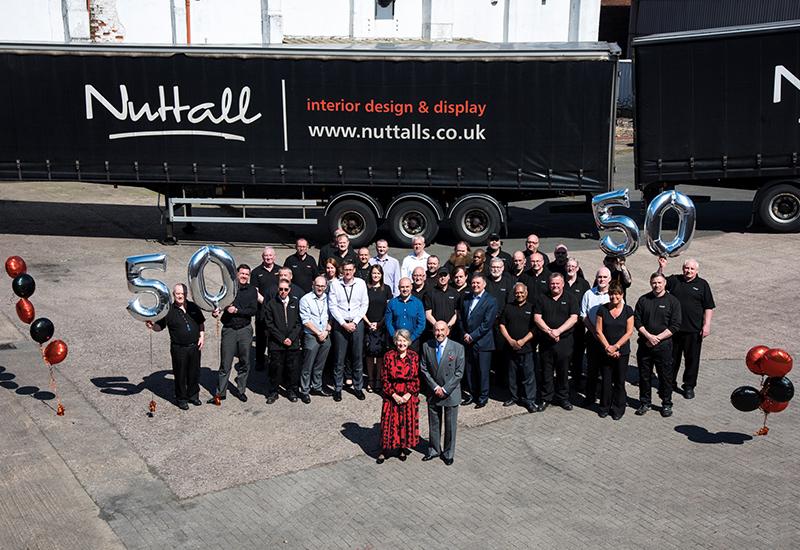 Nuttalls with 20 years staff crop