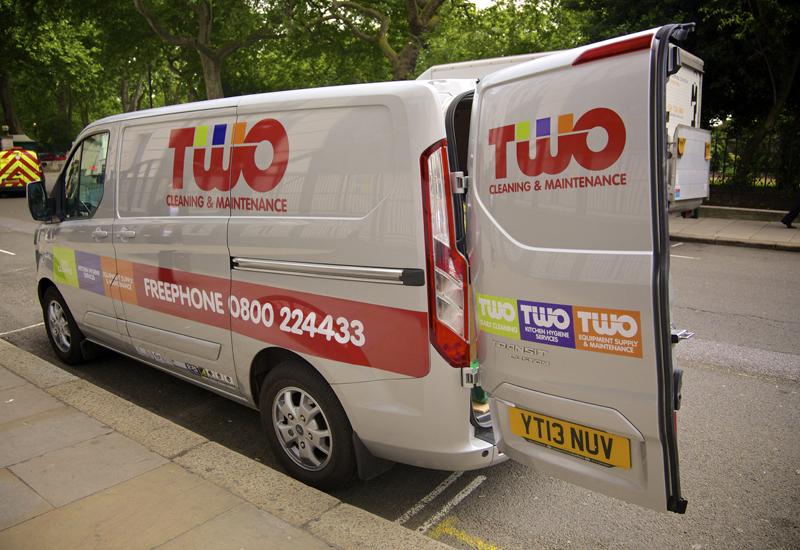 TWO Services van