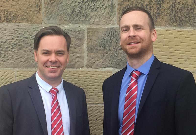 Scott Hayward, left, and Paul Burrows of Frima