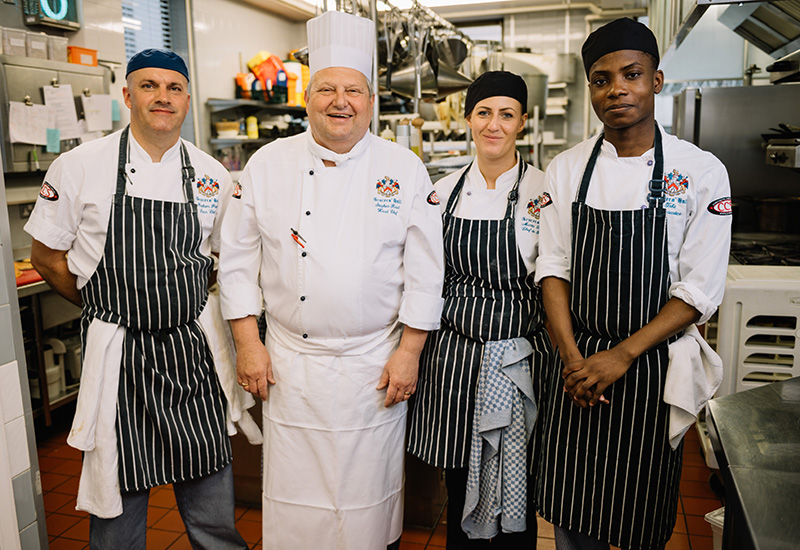 Grocers Hall Chefs Team_CREDIT IAN FORSYTH crop