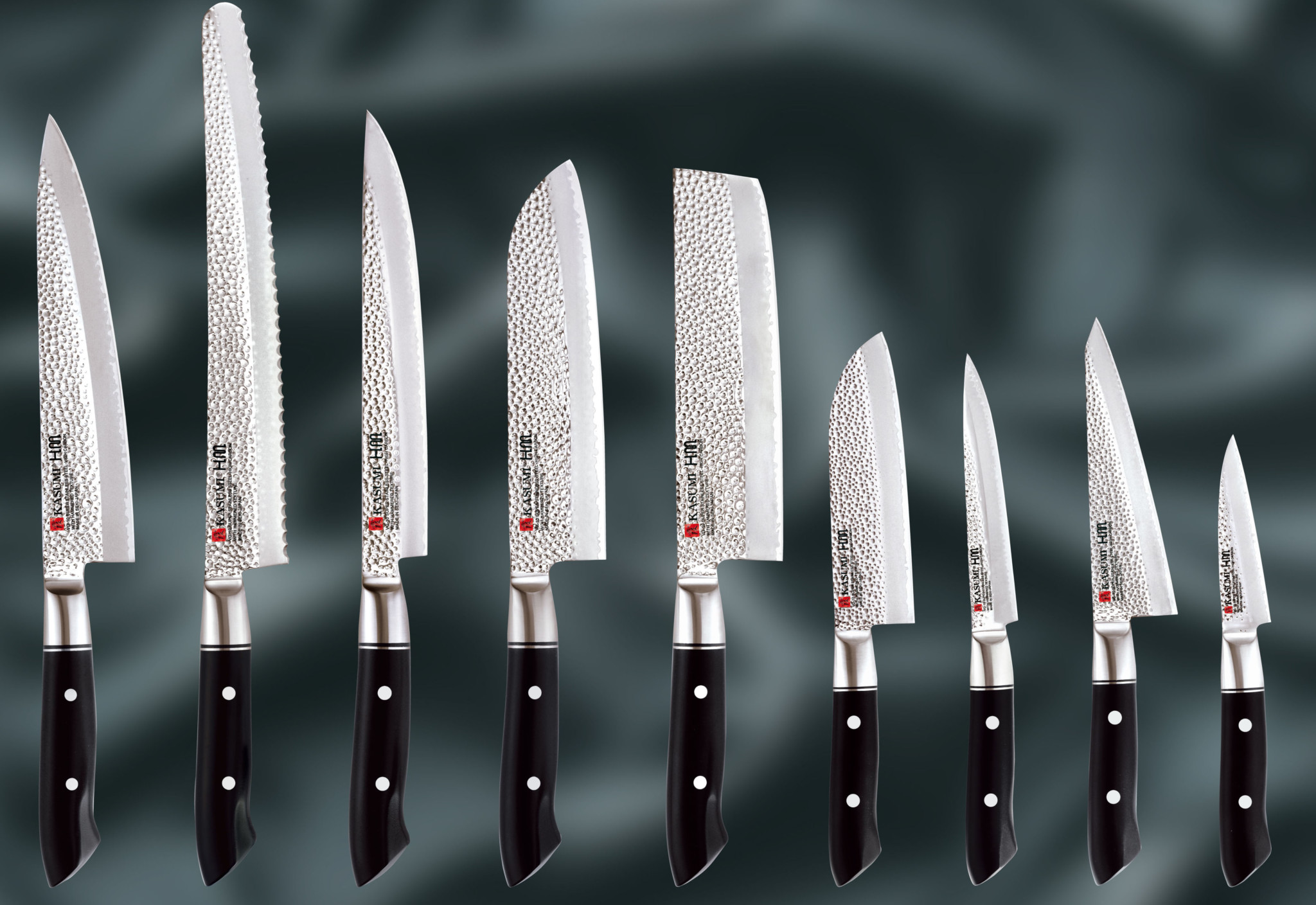 The Kasumi HM Hammered range from Russums CROP