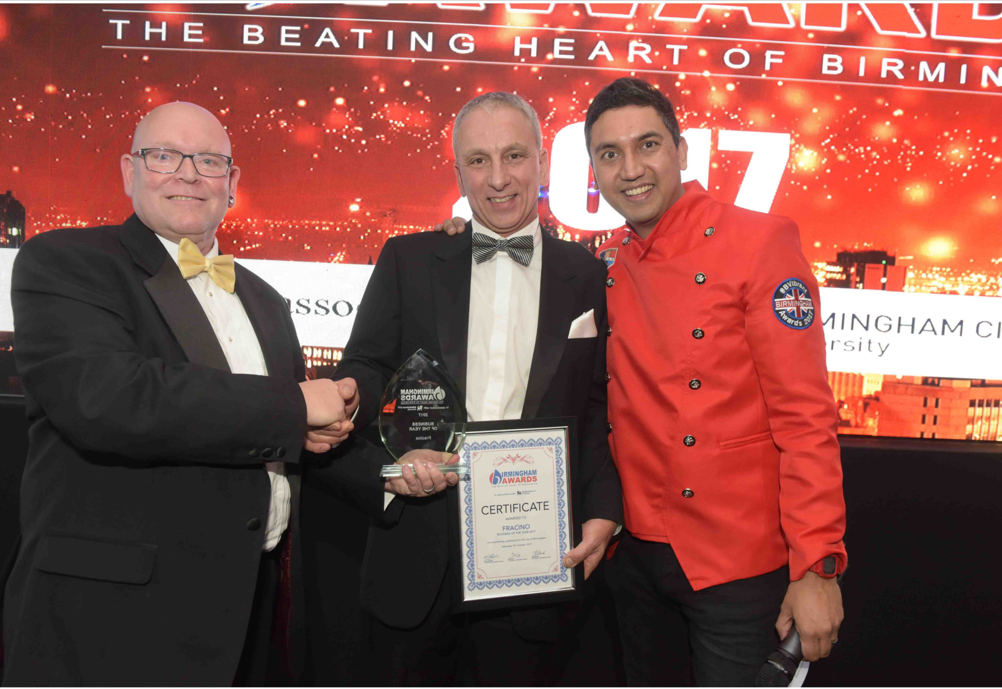 Fracino scoops awards accolade for growth and innovation
