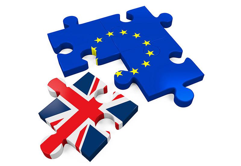 54182712 – brexit puzzle pieces