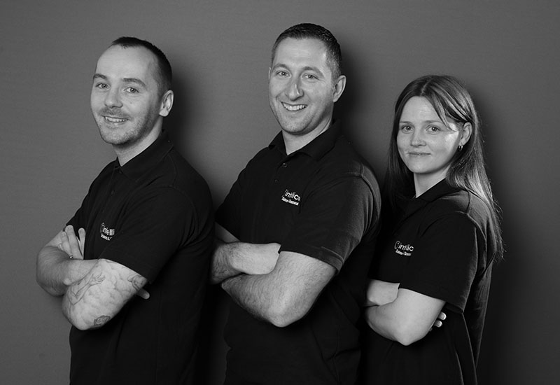 Team Intellico – with Managing Director Richard Hose crop