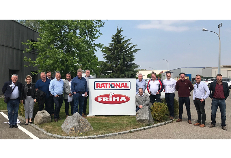 RATIONAL UK dealer and consultant visit to the Frima factory May 2018 crop