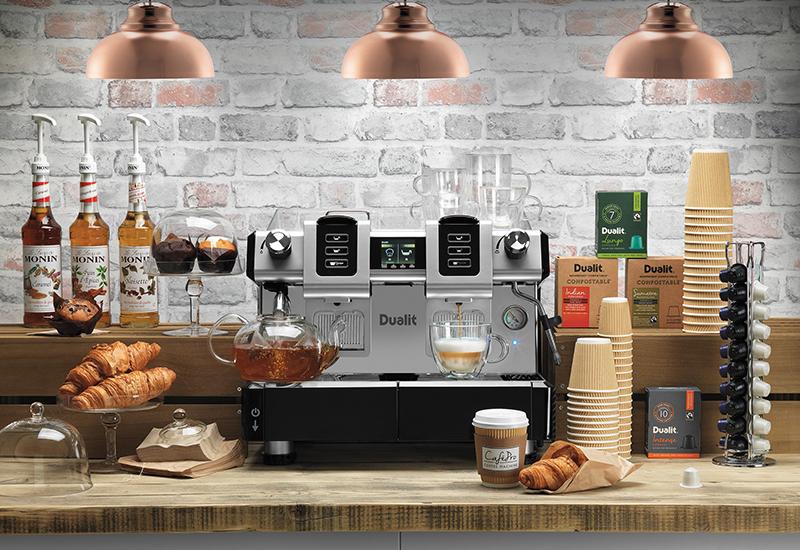 Dualit coffee machine crop
