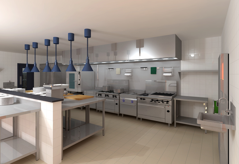 Catering Insight Professional Kitchen Designers Now Have Access To Hd Rendering