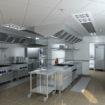 Open plan Commercial Kitchen crop