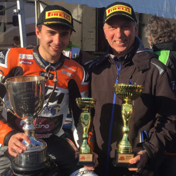 British Supersport motorcyclist backed by Fracino proves roaring success crop