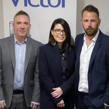 New starters – Tim Calvert Lauren Hunter and Steven Chadwick have joined the Victor Manufacturing sales team crop