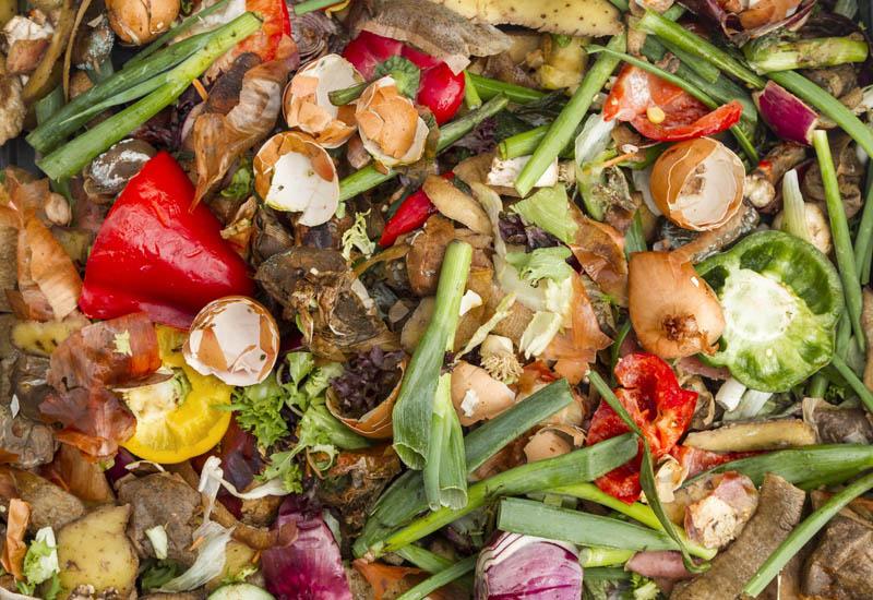 Domestic compost heap