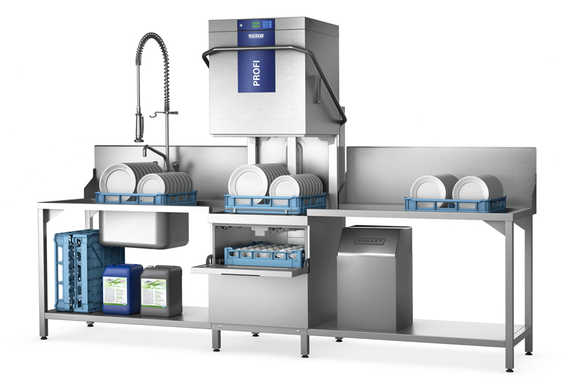Hobart's Two-Level Washer is now available on the new Complete Package offer crop