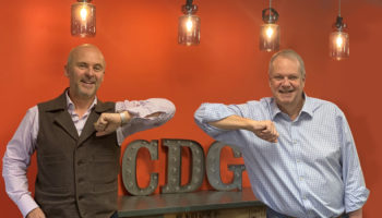 Gary Crosbie director of Interefurb and Phil Howard founder and managing director of CDG crop
