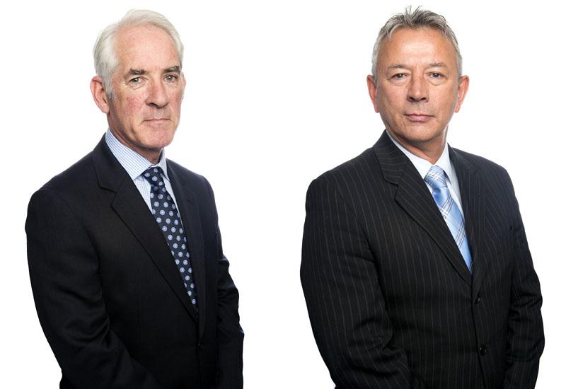 Ian Parr and Bob Dyson crop