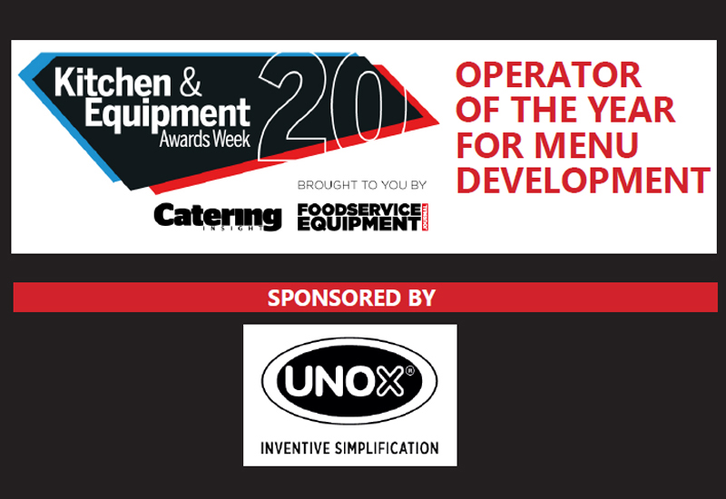 Operator of the Year for Menu Development