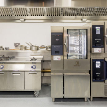 Electrolux Professional commercial kitchen equipment crop