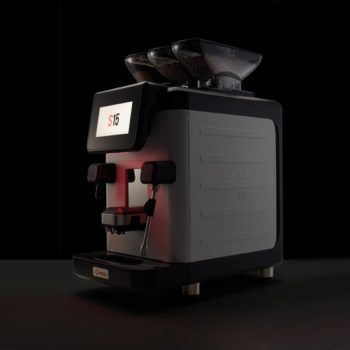 The new La Cimbali S15 fully automatic coffee machine crop