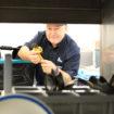 Meiko engineers carry a van full of dishwash spares crop