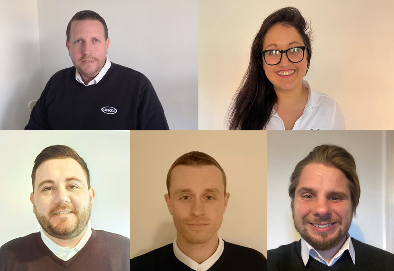 New Unox UK team