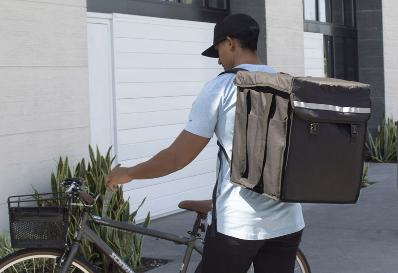 The Cambro GoBag Delivery Backpack from FEM crop