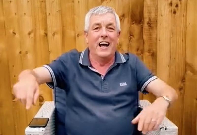 John McEvoy football chant crop