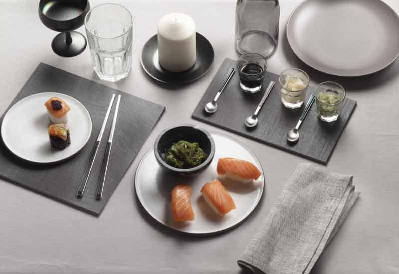 Sushi Pro cutlery – chopsticks – PINTI INOX crop