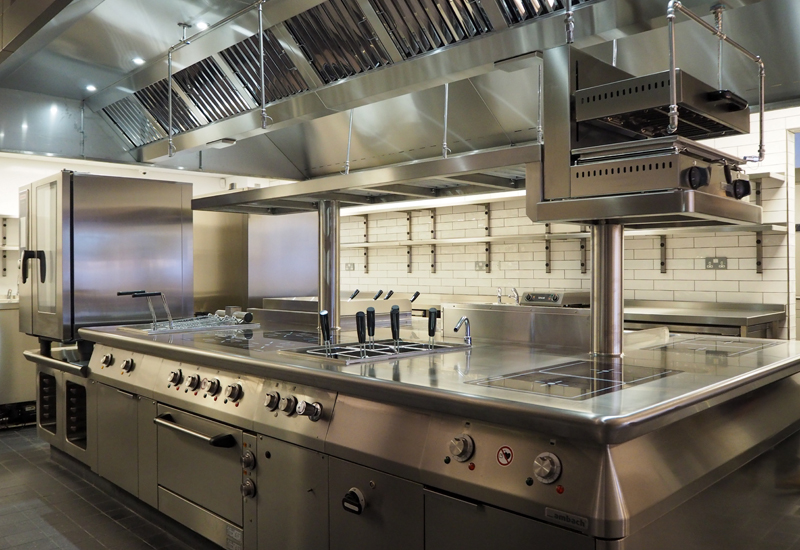 A kitchen recently designed and installed by Nelson Commercial Kitchens crop
