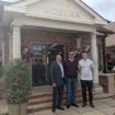 Trevor Lath with Armend Aljo and Alex Burley crop