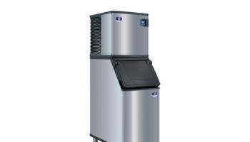 A-Manitowoc-Ice-Indigo-NXT-ice-maker-on-a-D420-bin-1 crop