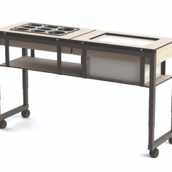 Ice_Teppan_for-ice-cream-rolls-with-second-table-ice-cream-toppinps-VENTA crop